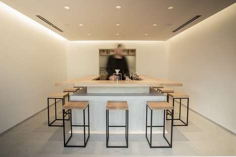 Hand-Drip Tea Cafes - The Tokyo Saryo Tea Cafe Offers Specialty Tea Varieties for Connoisseurs