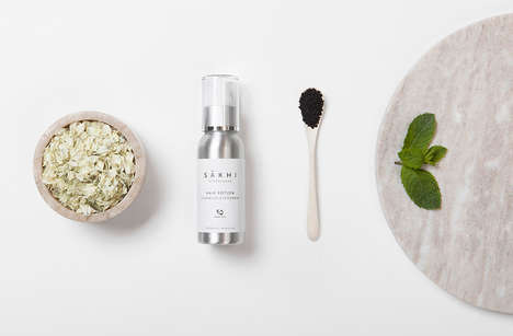 Culturally Influenced Skincare Brands - Sakhi Copenhagen Fuses Nordic and Eastern Healing Traditions