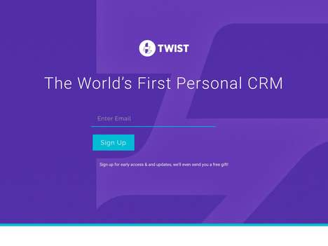 Personal CRM Platforms - The 'Twist' CRM Software Enables Users to Stay on Top of Professional Work