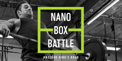 Branded CrossFit Challenges - Reebok's NANO BOX BATTLE celebrated the release of the Nano 7