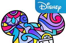 Disney-Themed Adult Coloring Books