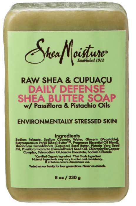 "Protective Anti-Pollution Soaps - This Shea Soap is Formulated for ""Environmentally Stressed Skin"""