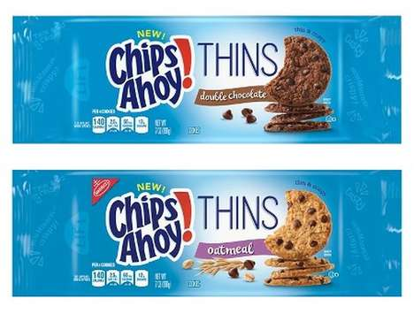 Portion Control Dessert Cookies - The New Chips Ahoy Thins Make it Easier to Control Indulgence
