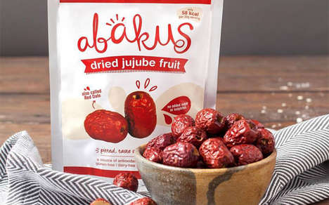 Phytonutrient Fruit Snacks - The Abakus Foods Jujube Fruit Snacks are a Source of Antioxidants