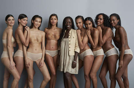 Complexion-Matching Intimates - 'Nudz' Intimate Apparel Aims to Provide Lingerie for All Skin Tones
