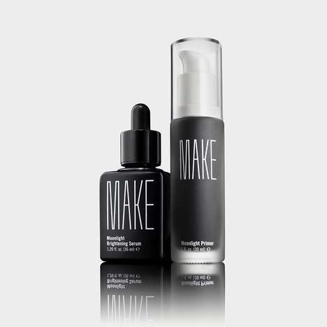 Light Protection Cosmetics - MAKE's 'Moonlight' Set Defends Against the Damage of HEV and IR Light