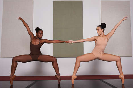 Inclusive Dance Apparel - 'Mahogany Blues' is Selling Nude Leotards for All Skin Tones