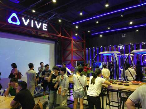 Virtual Reality Cafes - HTC has Opened Several 'Vive VR Cafes' Across China