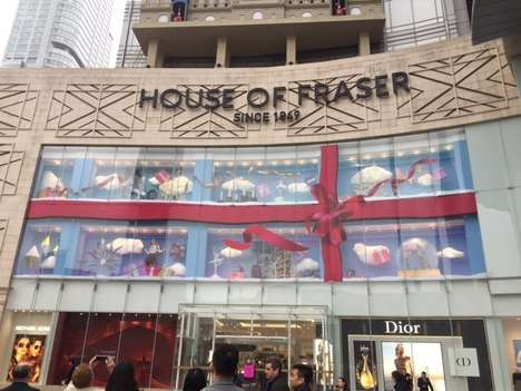 Upscale Department Store Expansions - A Popular British Department Store is Now Established in China