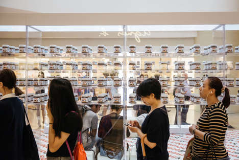 Hazelnut Spread Pop-Ups - This Temporary Nutella Store Offered Personalized Jars for Consumers