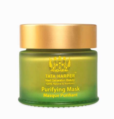 Anti-Pollution Face Masks - Tata Harper's Purifying Mask Reduces the Effects of Environmental Stress