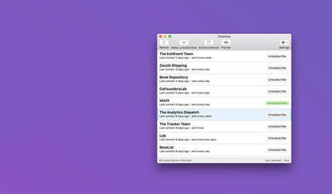 Email Newsletter Managers - Cleanbox is a Two-Click Subscription Manager For Your Email Inbox