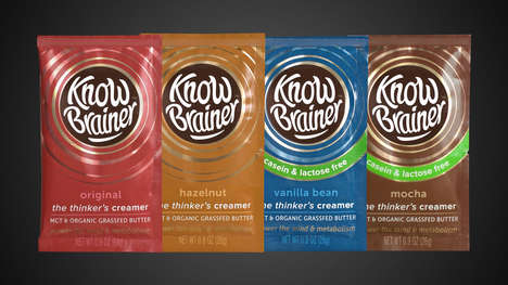 Ketogenic Coffee Creamers - The Know Brainer Liquid Creamers are Made with Clarified Butter