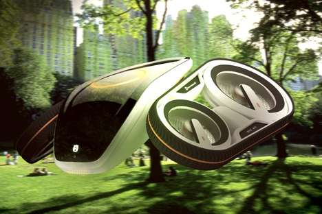 Foliage-Monitoring Drones - The 'Linnaeus' is a Flying Vehicle Drone Monitors Green Spaces