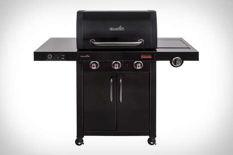 WiFi-Connected Barbecues - The Char-Broil SmartChef TRU-Infrared Gas Grill Ensures Optimal Cooking