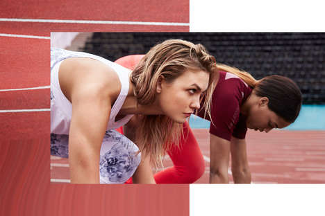 Freedom-Inspired Fitness Gear - The New Stella Mccartney Adidas Campaign Features Energetic Imagery