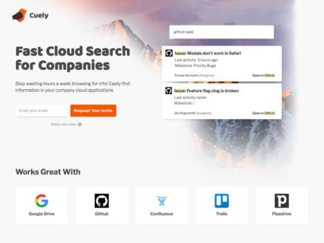 Business Document Search Engines - 'Cuely' Quickly Searches Cloud Applications to Find Relevant Info