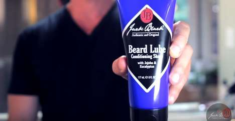 Lubricating Shaving Gels - Jack Black Beard Lube Offers a Pain-Free Shave