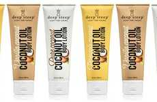 The Deep Steep Coconut Oil Body Lotion is Fast-Absorbing