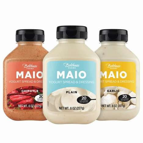 Alternative Mayonnaise Dressings - The Bolthouse Farms MAIO Yogurt Spread and Dressing is Flavorful