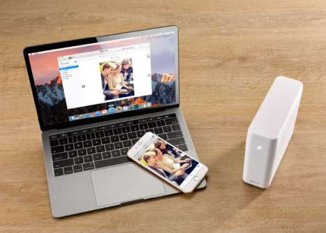Personal Cloud Storage Devices - The Apollo Cloud Keeps Photos, Files and Data Private and Secure