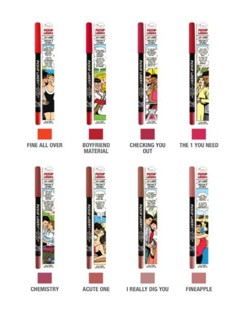 Romantic Lip Liners - theBalm's 'Pickup Liners' are Designed After Funny One-Liners