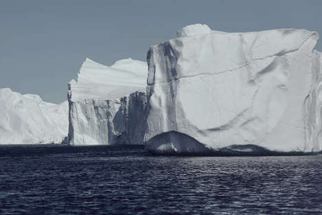 Eerie Iceberg Photography - Renaud Kritzinger's Greenland Series is Comprised of Frigid Landscapes