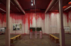 Bloodied Clothing Stores - The Brand CLOT Opened an Unusual Pop-Up Store in Los Angeles