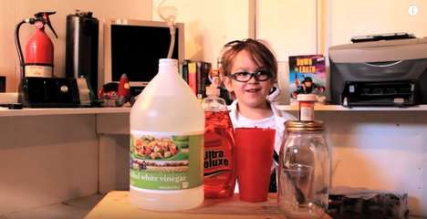 Kid-Taught Science Lessons - 'Tornado in a Jar' is from the Oliver's Science Lab YouTube Series