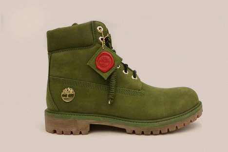 DJ-Designed Work Boots - These DJ Khaled Timberlands Have a Bold Military Green Colorway
