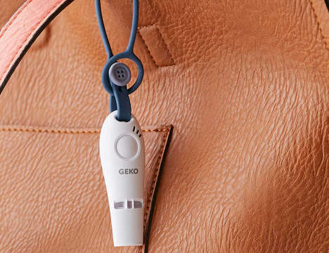 GPS-Enabled Safety Whistles - The 'GEKO' Safety Whistle Sends Alerts to Emergency Contacts When Used