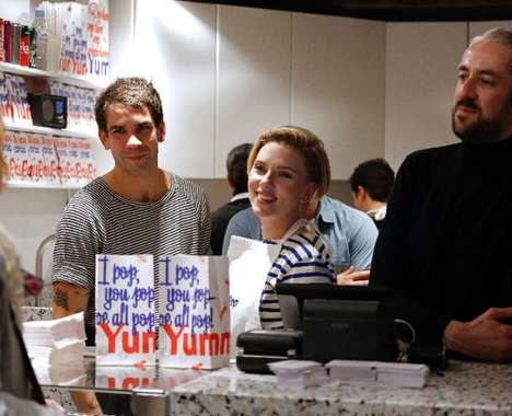Celebrity Popcorn Shops