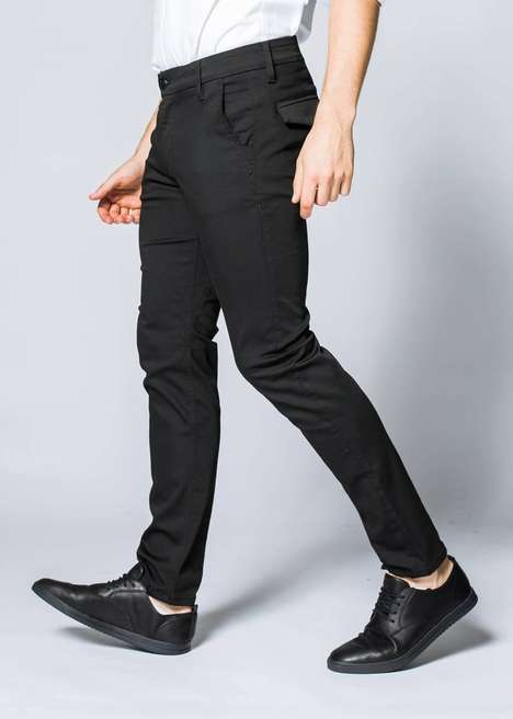 Flexible Work Trousers - Dish & DU/ER's 'Limitless Stretch' Dress Pants for Men Boast Comfort