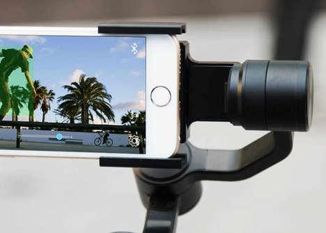 Stabilized Smartphone Rigs - The 'LitleCane' Smartphone Stabilizer Keeps Footage Streamlined