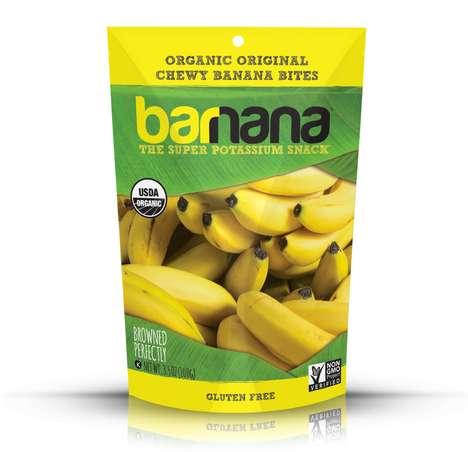 Waste-Reducing Fruit Snacks - The 'Barnana' Snacks are Made from Imperfect Bananas