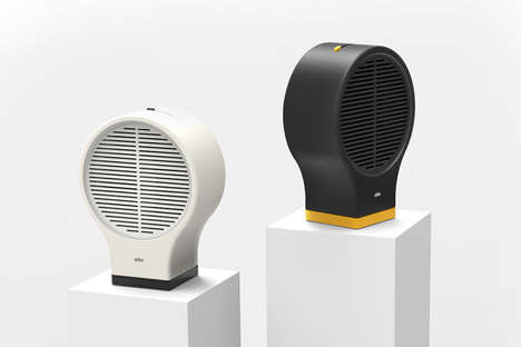 Chic Simplistic Cooling Fans - This Braun Fan Concept Eliminates Unnecessary Design Elements