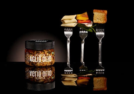 Wordly Sauce Jars - The Saucery Collection Offers a Series of Dynamic Flavors