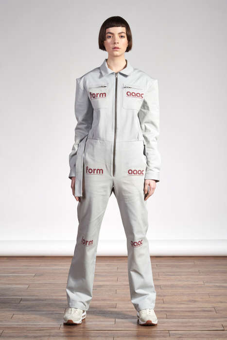 Utilitarian Genderless Apparel - The New AppleCore Collection Boasts Boldly Branded Looks for All