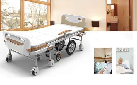 Convertible Patient Beds - The 'LOHAS' Hospital Beds Transform into a Wheelchair