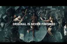 Subversive Sneaker Ads - Adidas' 'Original is Never Finished' Encourages Freedom from Standards