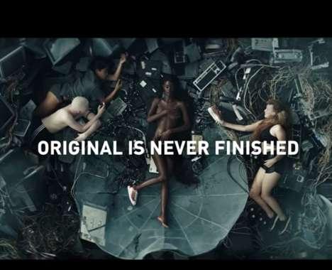Subversive Sneaker Ads