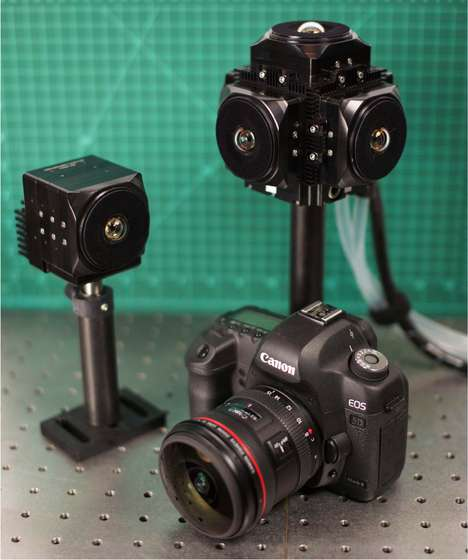 Compact VR Camera Concepts - UCSD's PMast Camera Can Record Professional-Grade 360-Degree Video