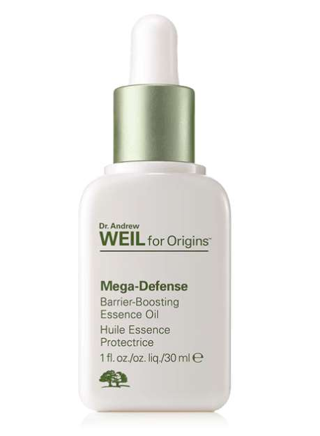 Blockading Face Oils - Origins' Mega-Defense Oil Forms a Barrier Against Environmental Pollutants