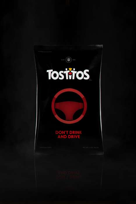 Ride-Ordering Chip Bags - The Tostitos 'Party Safe Bag' Helps Consumers Get Home Safely