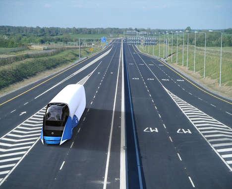 Aerodynamic Shipping Vehicles