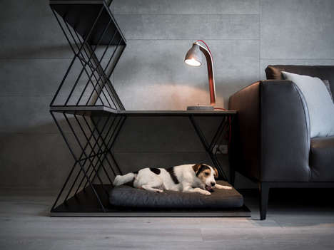 Room-Dividing Dog Beds - The LCGA Design Dog Bed is a Functional Furniture Piece