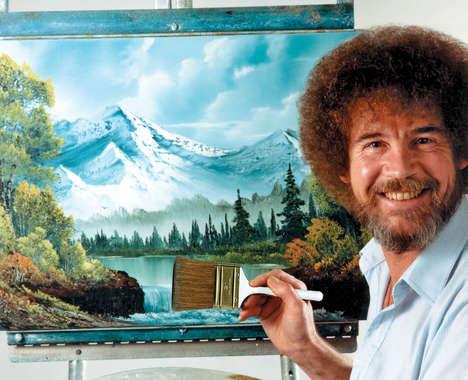 Nostalgic Digital Painting Commercials