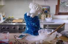 This Apple Ad Features Sesame Street's Cookie Monster