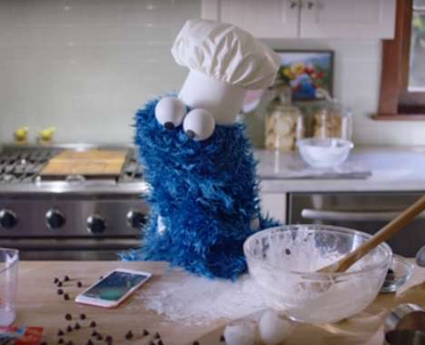 Comedic Puppet Cellphone Commercials