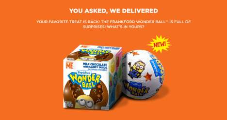 Nostalgic Novelty Candies - The Popular 90s Candy 'Wonder Ball' is Back on Store Shelves